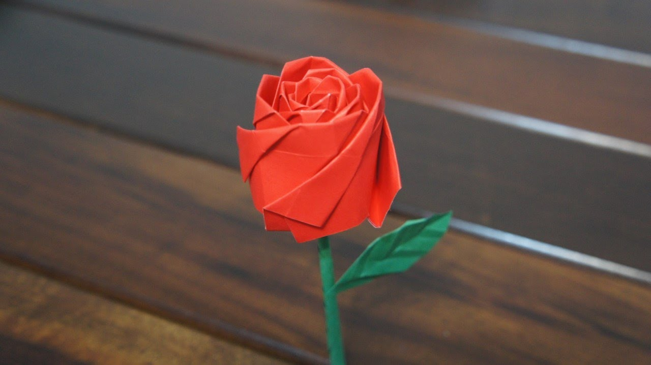 Origami Rose Ideas Youtube