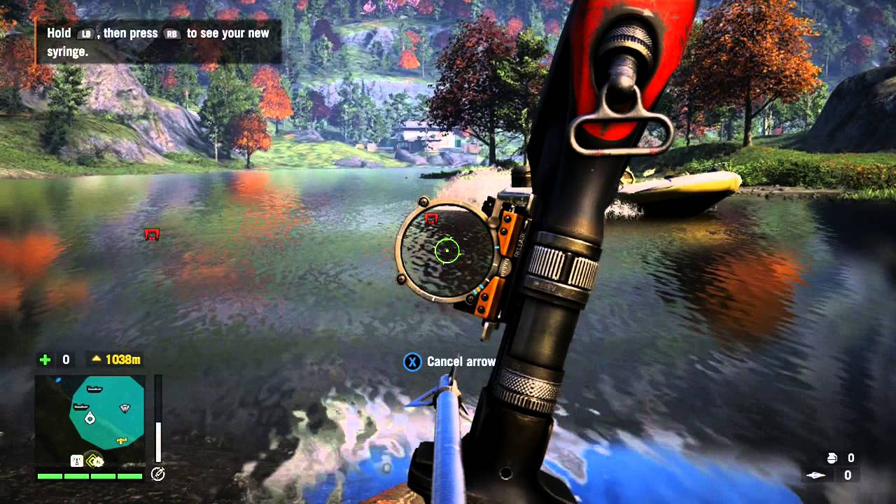 How To Find Demon Fish Skins Farming Location In Far Cry 4 Youtube
