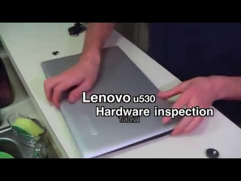Lenovo U530 Disassembly Hardware Inspection Tutorial Lenovo Laptop Won't Doesn't Boot (FIX)