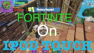 HOW TO GET FORTNITE ON IPOD TOUCH! (Season 9)