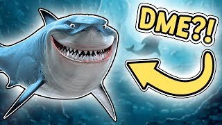 DME AS a SHARK! -Danish Roblox: Sharkbite Alpha
