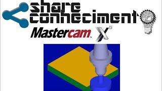 Usinando Geometria 1 - MASTERCAM Aula 4 Parte I ( Prof. Diêgo Rodriges)