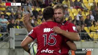 Super Rugby 2019 Round Seven: Hurricanes vs Crusaders