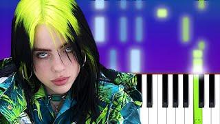 Billie Eilish - My Future | Piano Tutorial