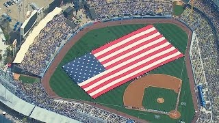SF@LAD: Los Angeles Opera stars sing national anthem