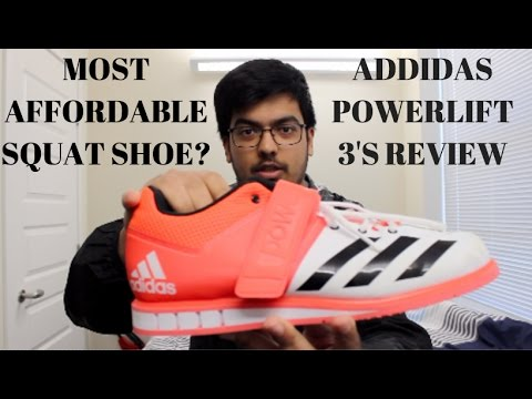 Adidas Powerlift 3.0 Review | Squat Shoes | Hywel Evans