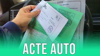 ACTE AUTO - Cum vinzi/cumperi o masină in ROMÂNIA?