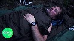 Allein im Wald: Schlafen in der Wildnis   WDR Doku