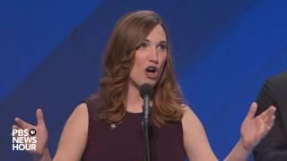 sarah mcbride first transgender speaker at major political convention addresses dnc 2016
