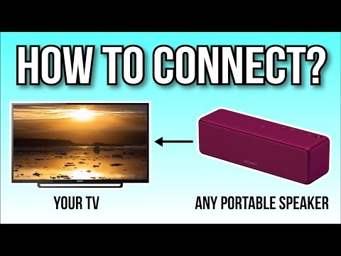 How To Connect Your Portable Speaker To Your TV, The Easy Way!