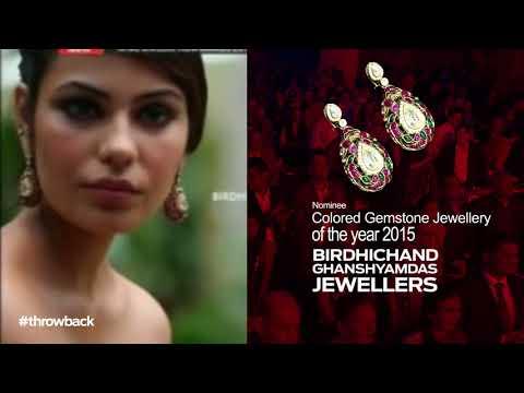 Birdhichand Ghanshyamdas Jewellers At The Retail Jeweller India Awards