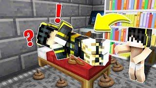 DARKCURSE UYURKEN KAKA YAPTI! 😱 - Minecraft