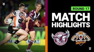 Sea Eagles v Tigers | Round 17 2020 | Telstra Premiership | NRL