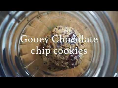 HEALTHY VEGAN DESSERTS | Cookie Dough Ice Cream & Chocolate Chip Gooey Cookies  | Anita Saxu