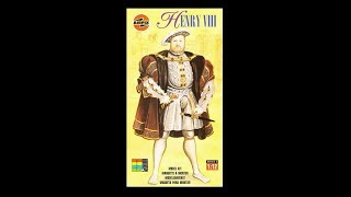 What's In The Box? Arifix 02501 Henry VIII Model Kit