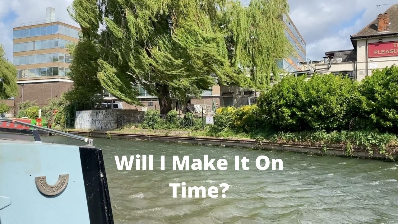 Towing My Narrowboat in the Wind - Do I Make It On Time?