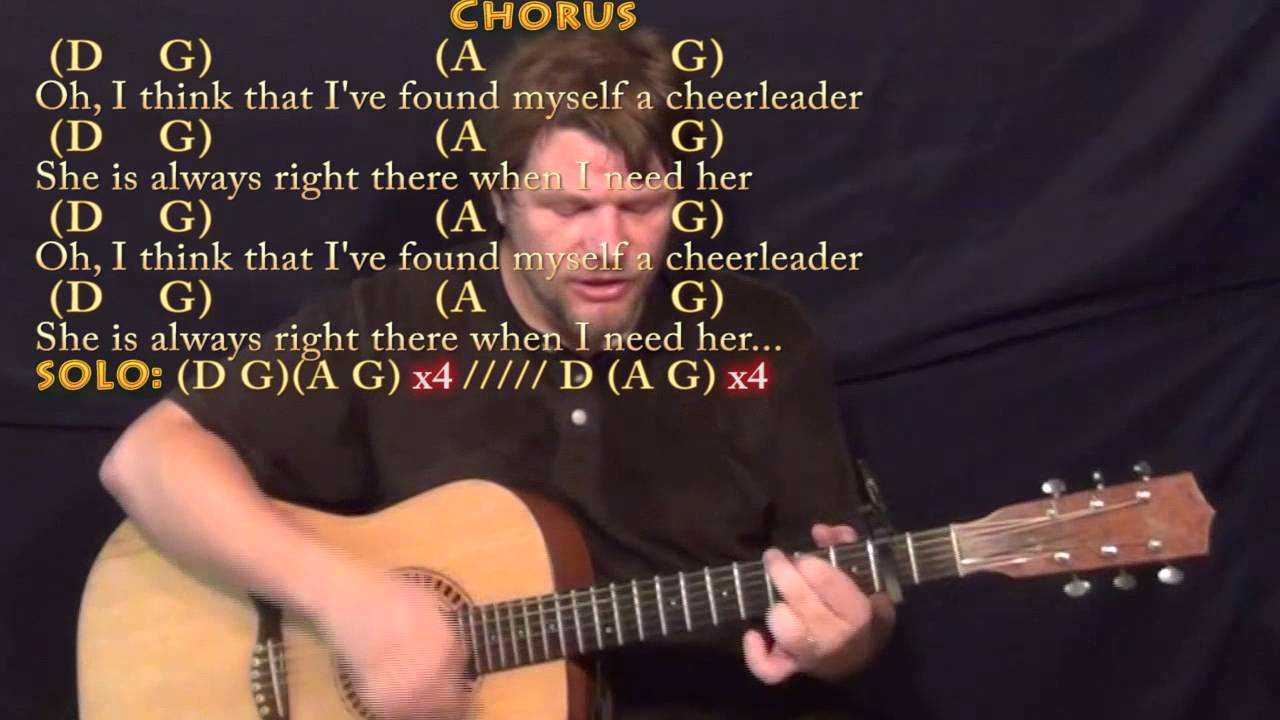 Cheerleader Omi Strum Guitar Cover Lesson With Chordslyrics