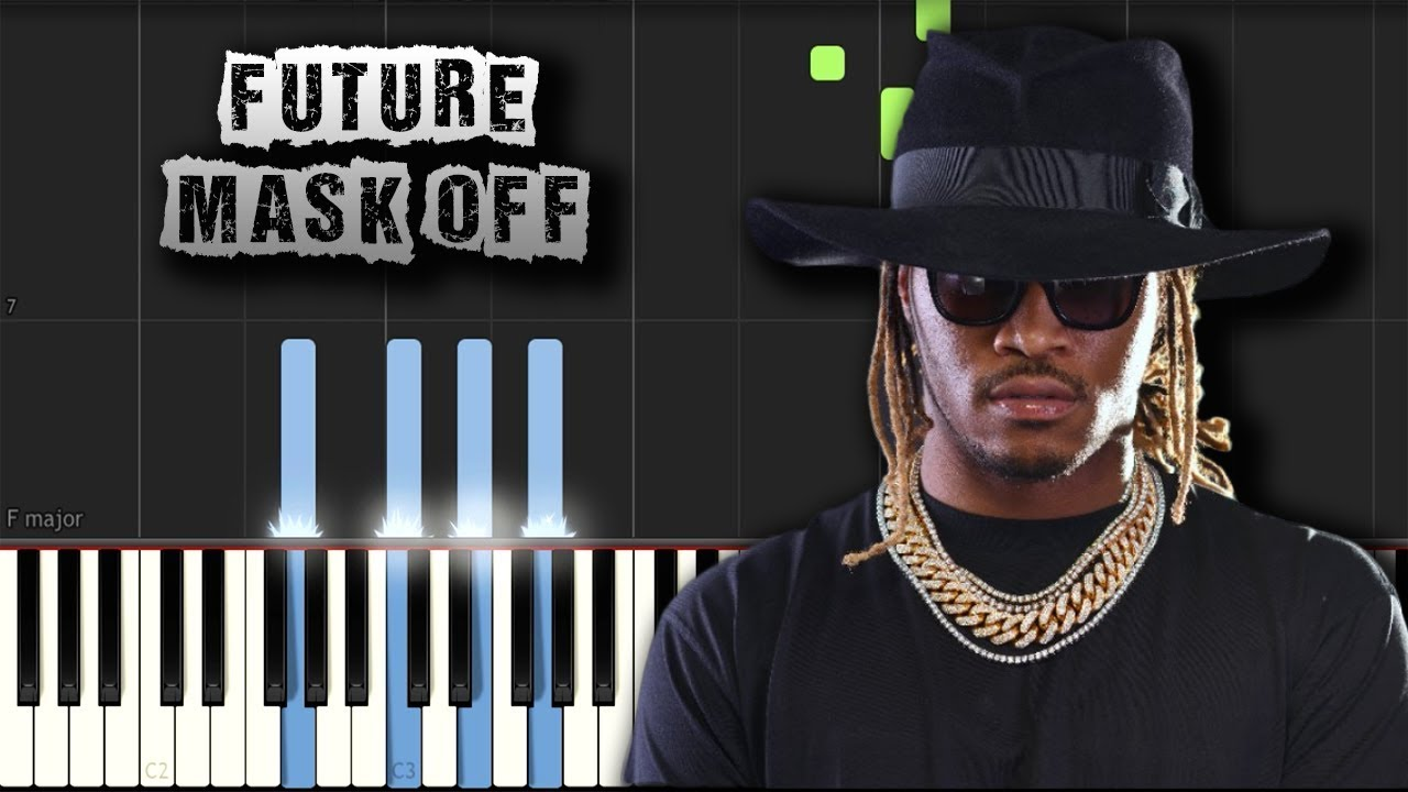 Future Mask Off Piano Tutorial Synthesia Download Midi Youtube