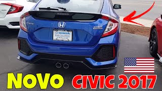 Video NOVO HONDA CIVIC 2017 - Quanto Custa nos Estados Unidos download MP3, 3GP, MP4, WEBM, AVI, FLV Juli 2017