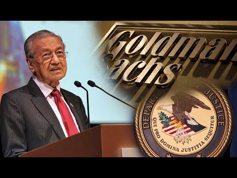 Dr M: US DOJ Will Help Return Money Goldman Sachs Charged For 1MDB Dealings