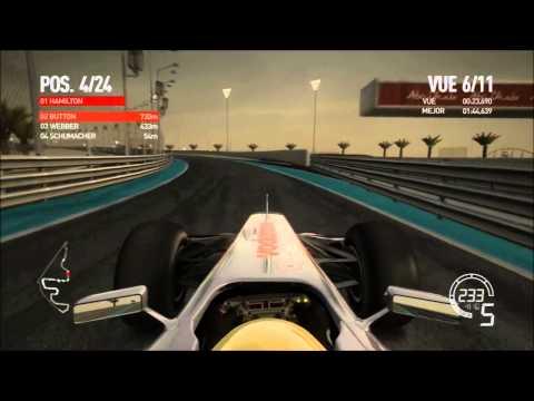 Live F1 2010 GP Abu Dhabi | Hamilton | McLaren Mercedes