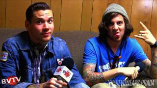 """The Devil Wears Prada Interview #4 At Warped Tour 2011 - BVTV """"Band Of The Week"""" HD"""