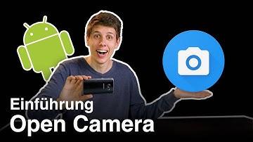 Open Camera App - Filmen mit Android Smartphones