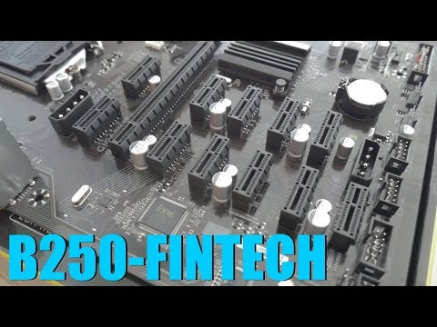 Gigabyte B250-Fintech Mining Motherboard Review And Bios Settings