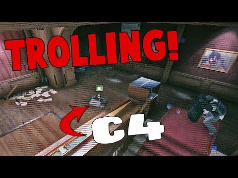 Rainbow Six Siege - CHIEF IS A JOKE! (C4 Trolling, McDrive Explosive, CRAZY & FUNNY MOMENTS)