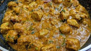 सोयाबीन की स्वादिस्ट सब्जी - Soya Chunks Curry Recipe - Protein Rich Soyabean ki sabji