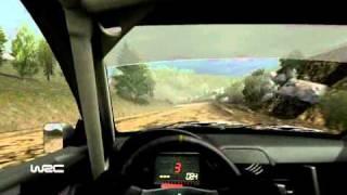 WRC FiA World Rally Championship 2010 PC gameplay