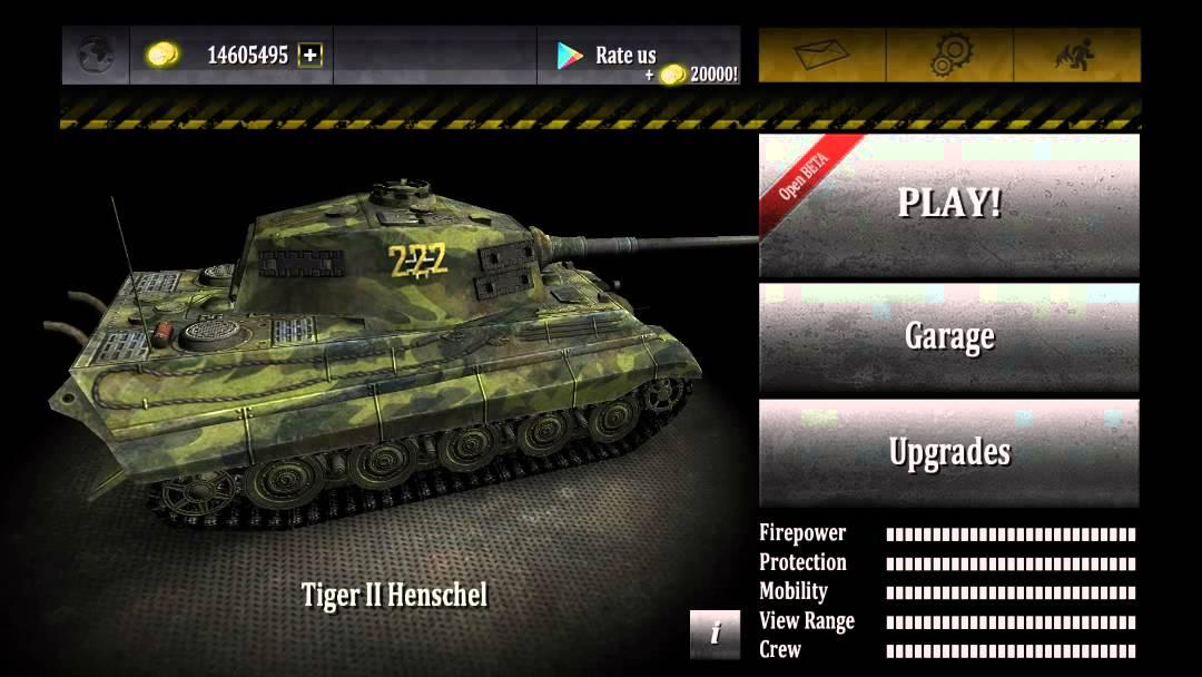 Взломанные игры танки на андроид игра