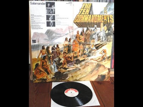 Salamander – The Ten Commandments (Full Album) 1971 Very Rare Heavy UK Prog £300