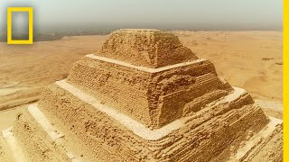 The Inventor of the First Pyramid | Lost Treasures of Egypt