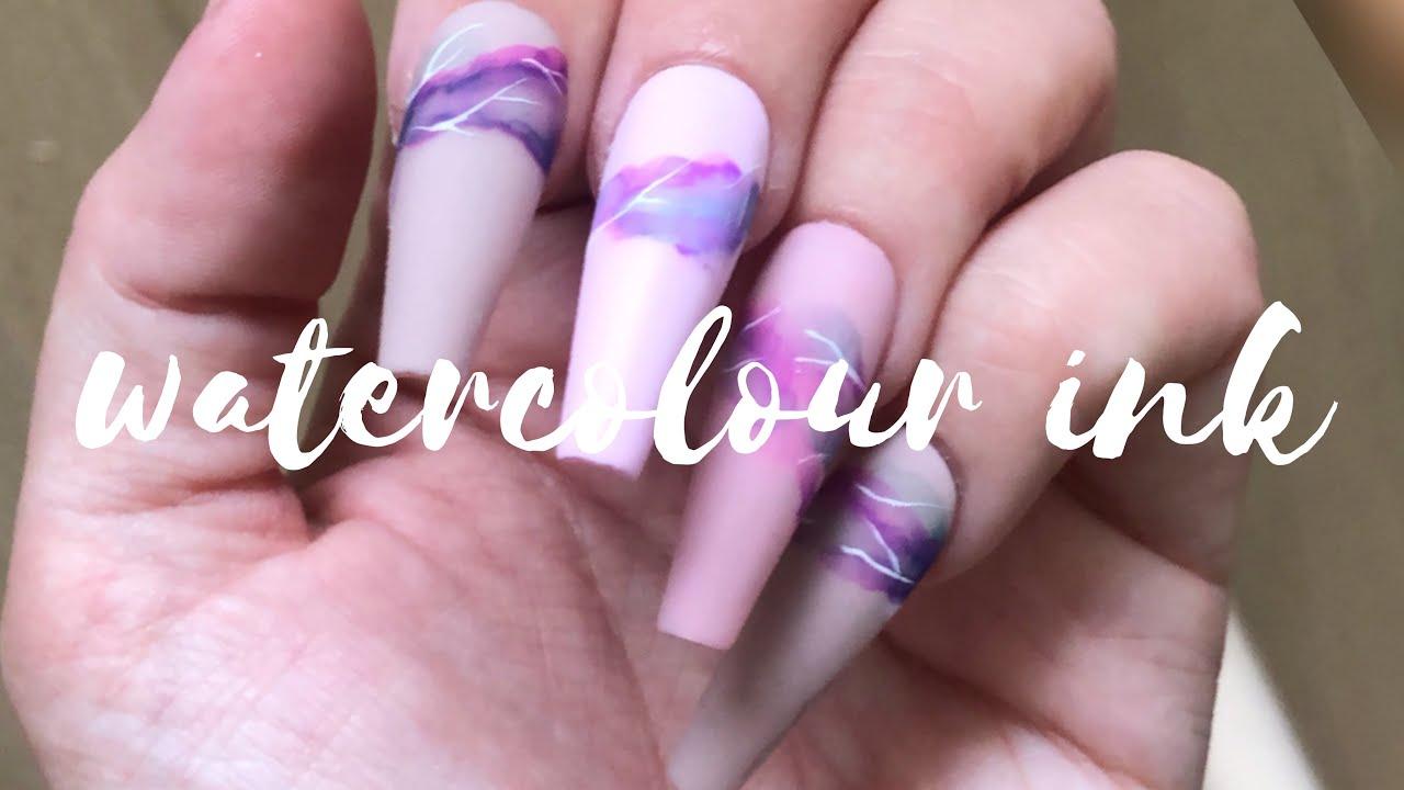 [TUTO] Watercolor Ink | Melissa Easy Nails