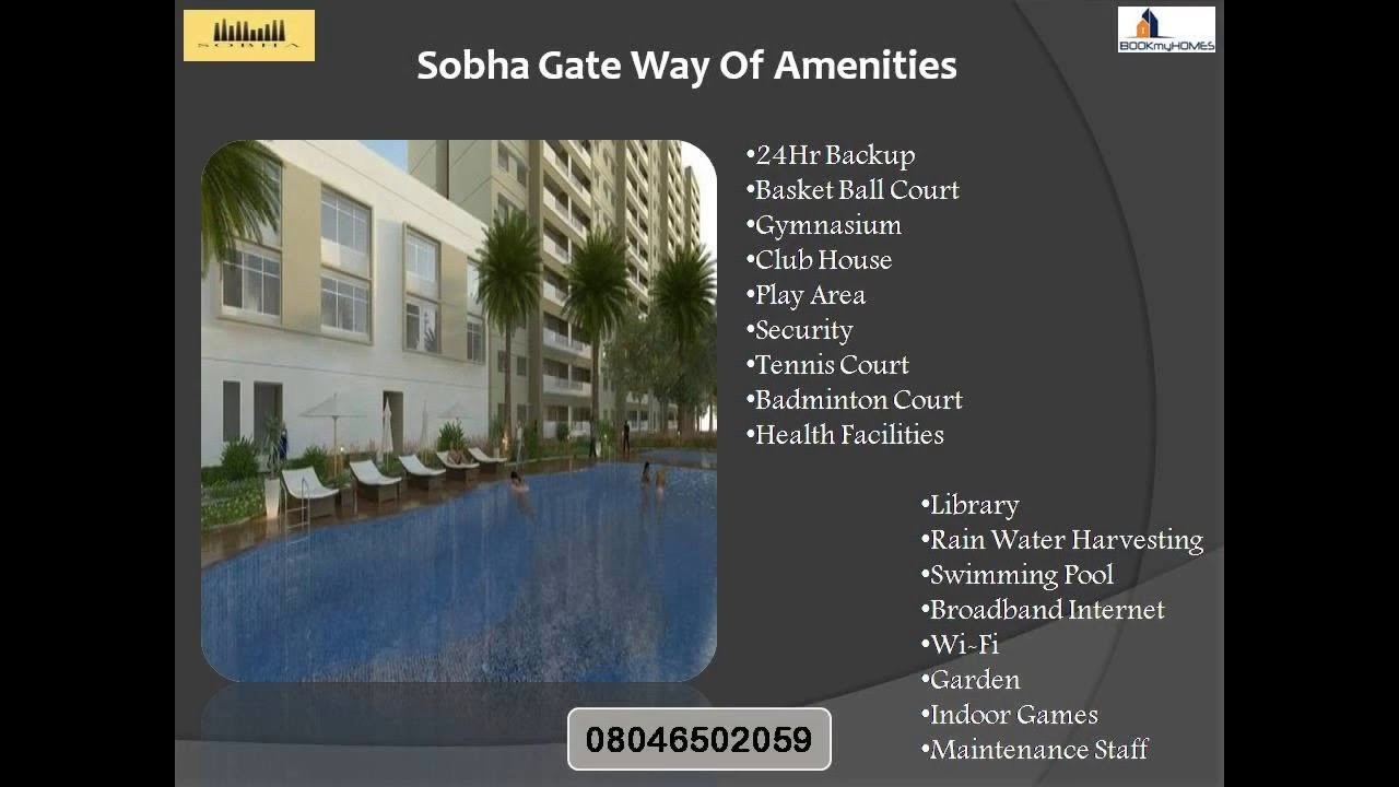 Sobha Gate Way Of Dreams Panathur Road