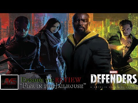"""Download Marvel's THE DEFENDERS (Netflix) - Episode 7 """"Fish in the Jailhouse""""   TV Review -"""