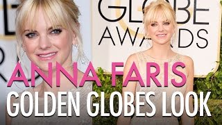 Anna Faris Golden Globes Look Thumbnail