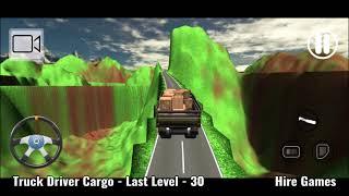Truck Driver Cargo Game Level - 30 screenshot 2