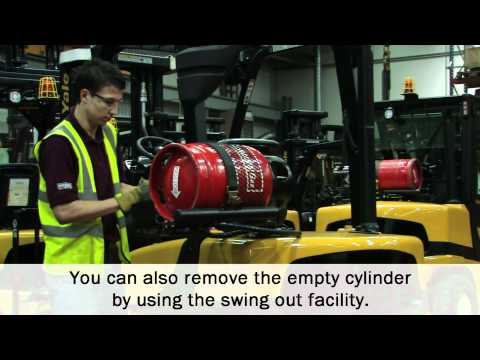 Briggs Equipment UK: How To Change A Gas Bottle On Your Forklift Truck