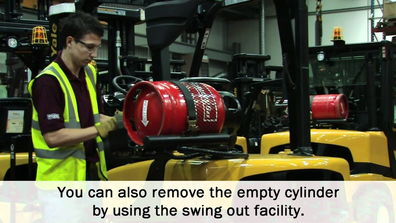 Briggs Equipment Uk How To Change A Gas Bottle On Your Forklift