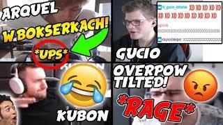ARQUEL W BOKSERKACH *FAIL*/OVERPOW RAGE/GUCIO/KUBON