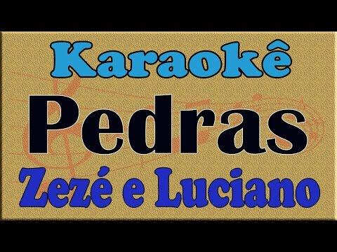 Zezé Di Camargo e Luciano   Pedras Playback Karaoke