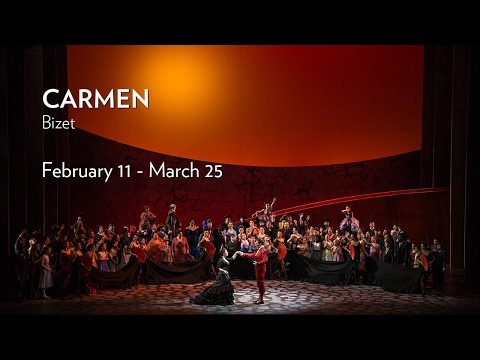 Bizet's CARMEN at Lyric Opera of Chicago. Onstage Now through March 25