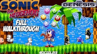 Sonic the Hedgehog Sega Genesis Full Walkthrough Longplay