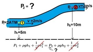 Physics -Fluid Flow (1 of 7) Bernoulli