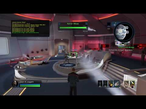 Let's Play Star Trek Online Part 4 New Captain and Spaceship Battle