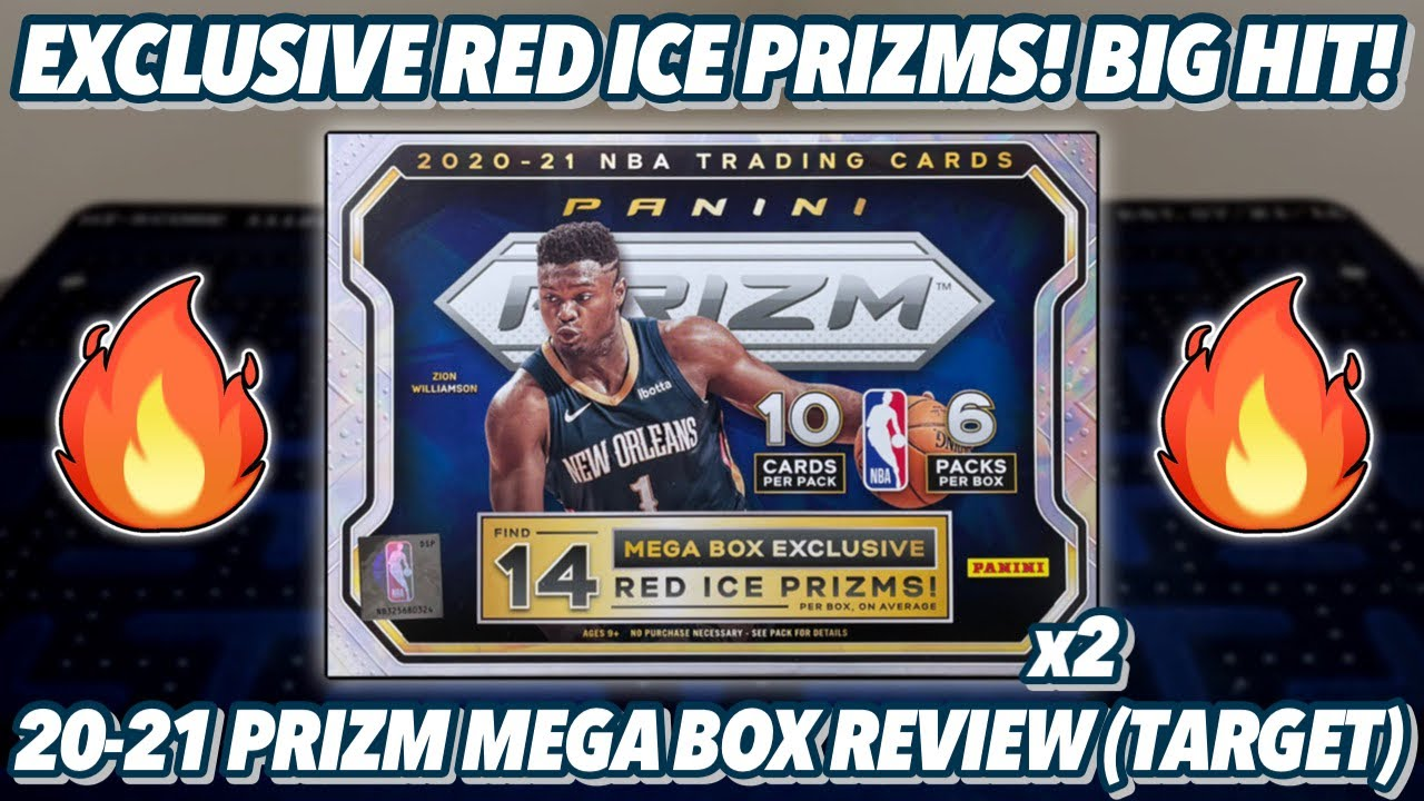 BIG HIT!🔥 | 2020-21 Panini Prizm Basketball Retail Mega Box Review x2 (Target)