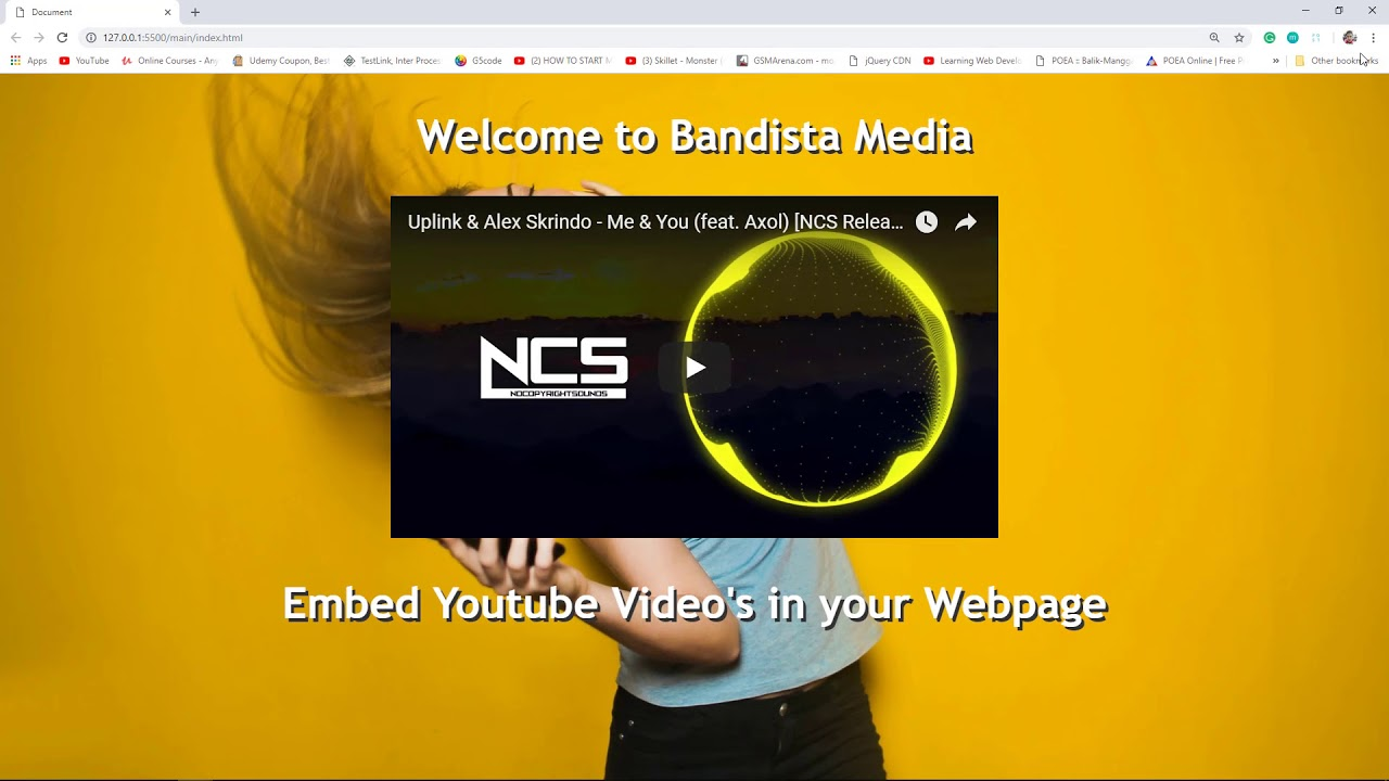 How to Embed Responsive Youtube Video in your Website