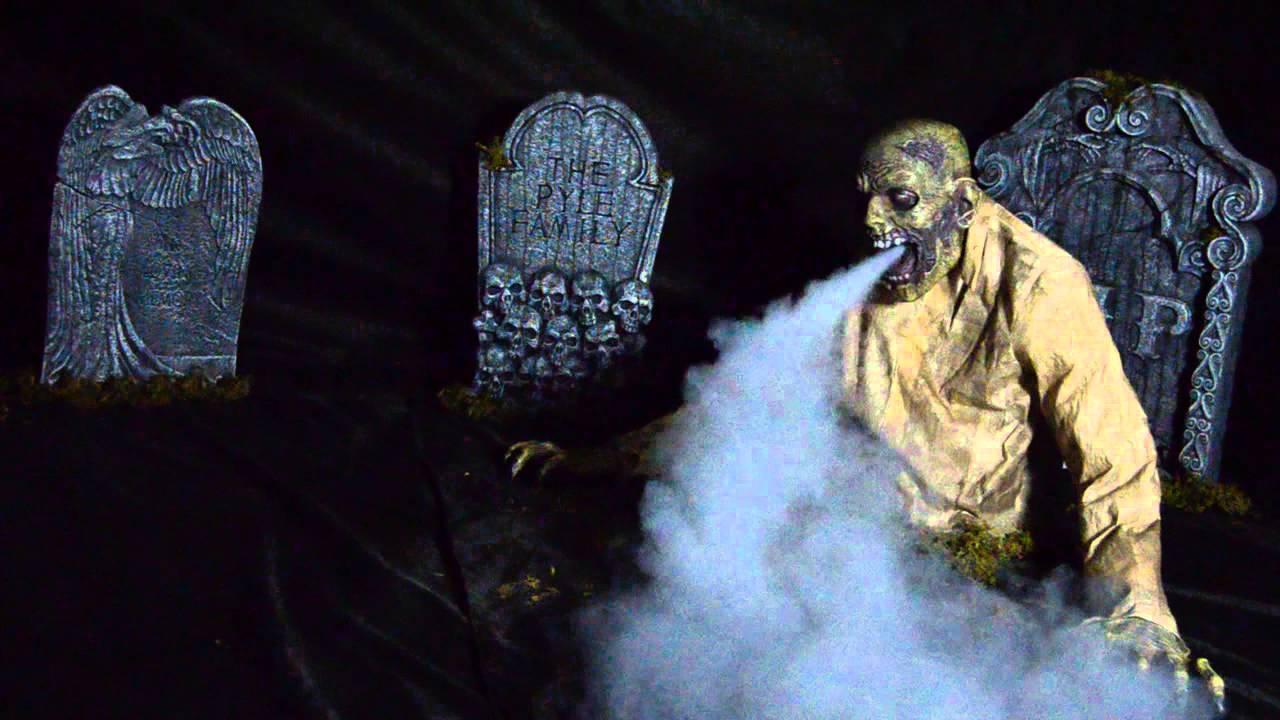 Gaseous Zombie Animated Fog Creature Youtube